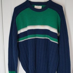 Vintage 90s Jantzen Sweater Made in the USA XL